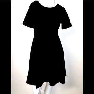 Tahari perfect little black fit and flare special